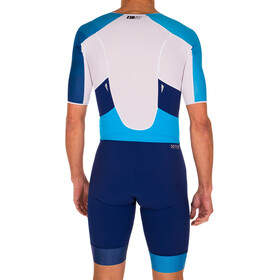 Z3R0D Racer Time Trial Trisuit Men dark blue/atoll